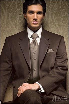 Dark Taupe suit