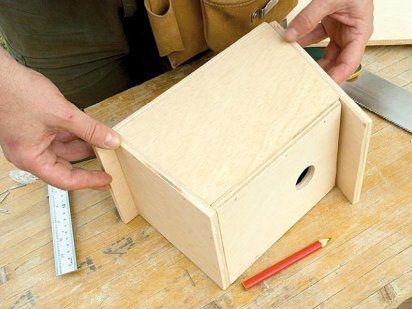 Hagamos una caja nido | Hacer bricolaje es facilisimo.com