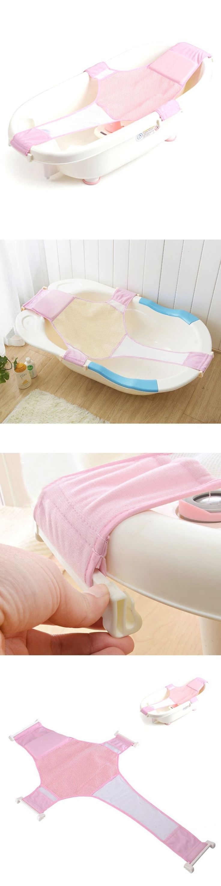 Bath Tub Seats and Rings 162024: Byp Baby Newborn Bath Seat Support Net Non-Slip Bathtub Sling Shower Mesh Bathin -> BUY IT NOW ONLY: $37.64 on eBay!