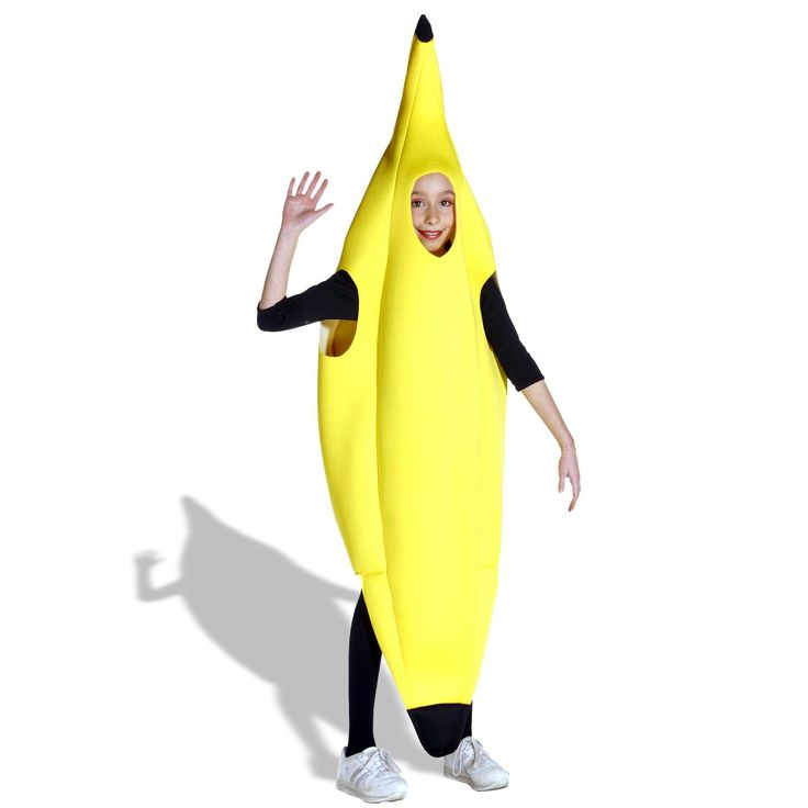 trending now at trendbrew kids banana deluxe child costume one size fits most - Banana Costume Halloween
