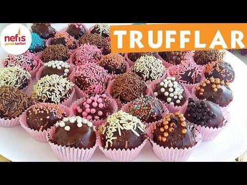 Pratik Harika Trufflar - Çikolatalı Tarifi - Nefis Yemek Tarifleri - YouTube