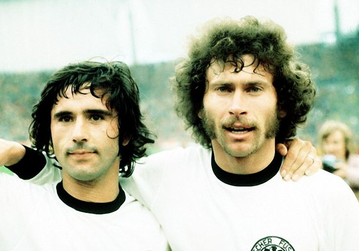 Gerd Müller and Paul Breitner