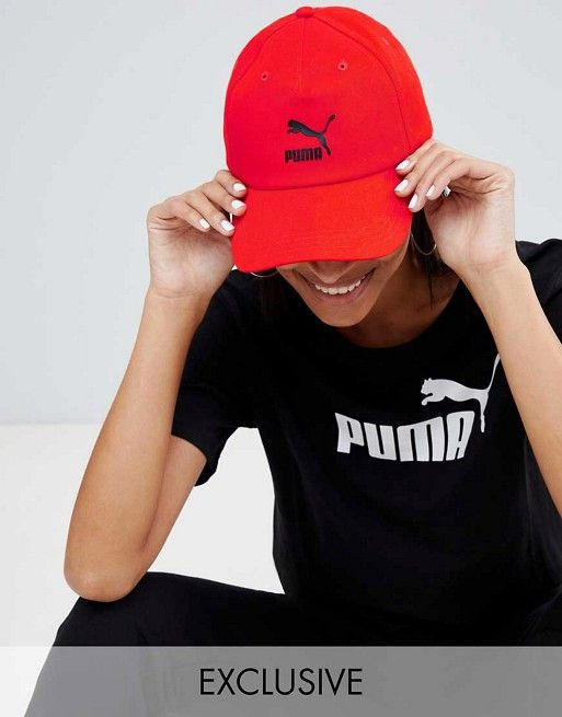 054bb6ff234 Puma Exclusive Logo Cap With Taping In Red