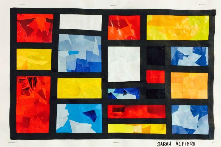 Art. Paper. Scissors. Glue!Mondrian