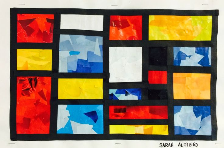 Art. Paper. Scissors. Glue!Mondrian