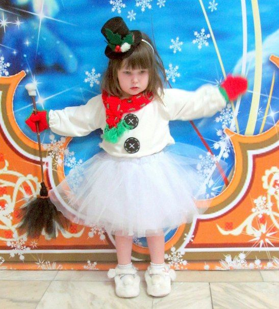 snowman? snowgirl!