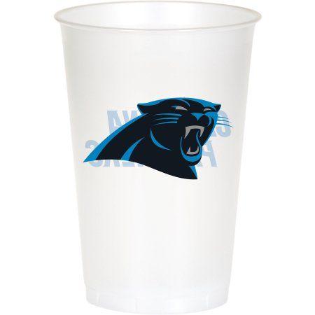 Carolina Panthers Cups, 8-Pack, Assorted