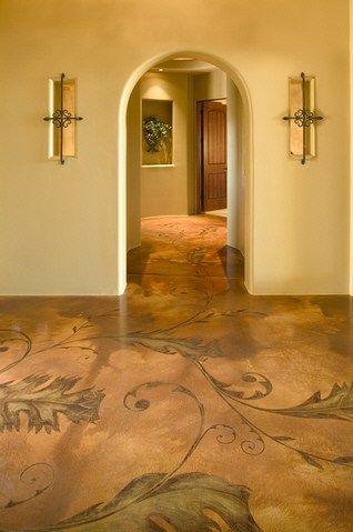 Concrete Floors Decorative Concrete Staining & Scoring, Inc Scottsdale, AZ