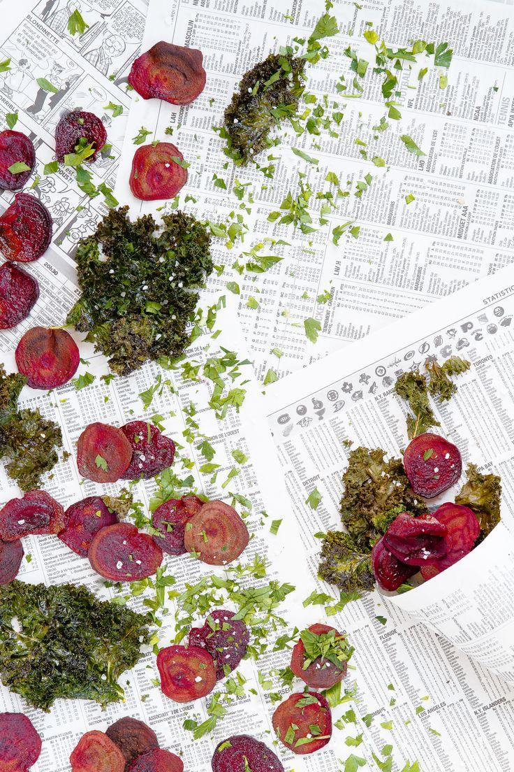 25 best ideas about chips de betteraves cuites au four on - Chips fait maison au four ...