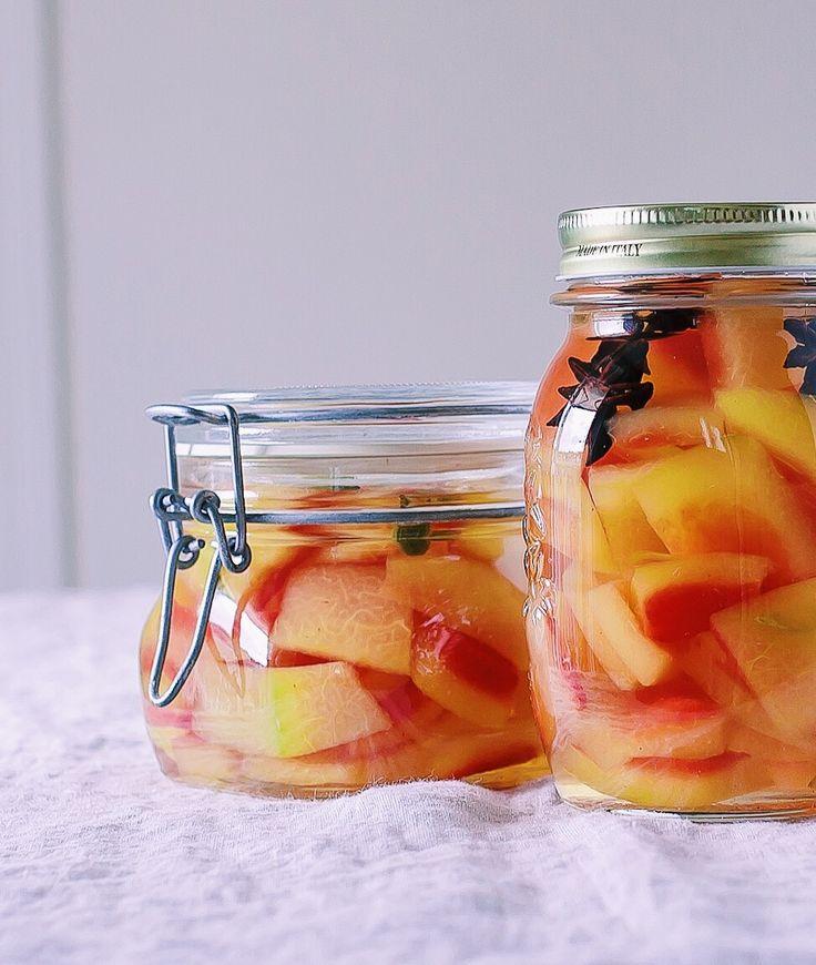 Rezept Fur Pickles Mit Der Rinde Von Wassermelone Rezept Gourmet Grillparty Und Grillen