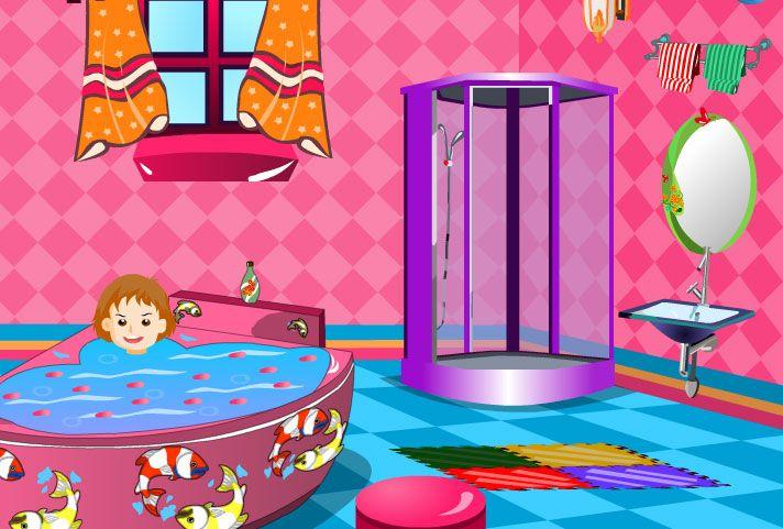 Bebeğimin Banyosu temasında karakterimizle beraber kontrolleri yapabilmek için oldukça hızlı olacaksınız. En baştan bir banyo dizayn etmeniz gereken bu uygulamada sizlere iyi şanslar dileriz arkadaşlar.