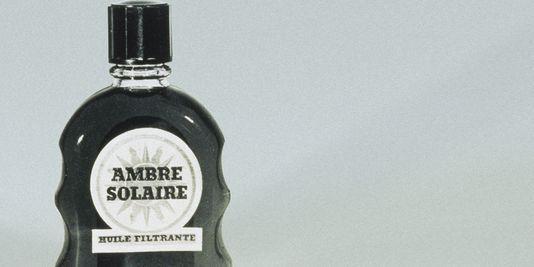 Ambre Solaire, Flacon d'huile solaire, 1950 / ?