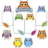 "Checkout the ""Colorful Owls Good Work Bulletin Board Set"" product"