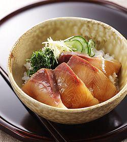 ぶり漬け丼 : レシピ集 - レシピナビ