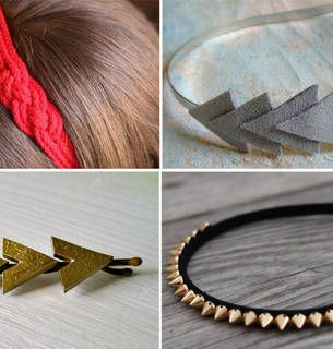DIY Hair Accessories: 10 Gorgeous Projects (PHOTOS)