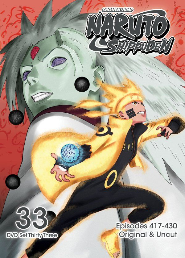 Viz Media Showcases 33rd 'Naruto: Shippuden' Anime DVD Release
