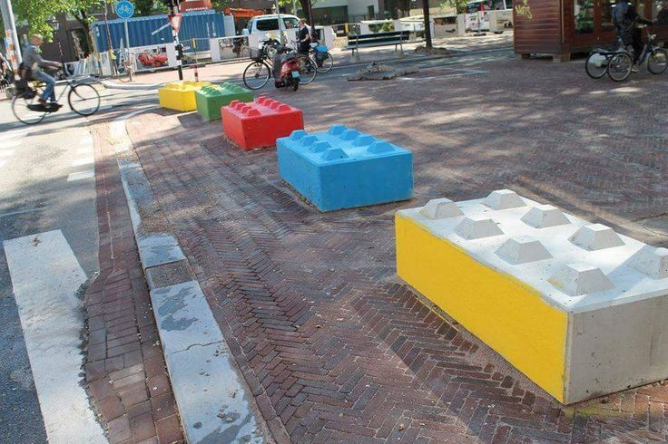 Happy Colored Blocks from Betonblock - #Betonblock