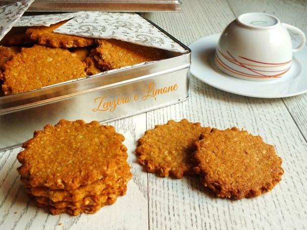 BISCOTTI COCCO E AVENA #cookie