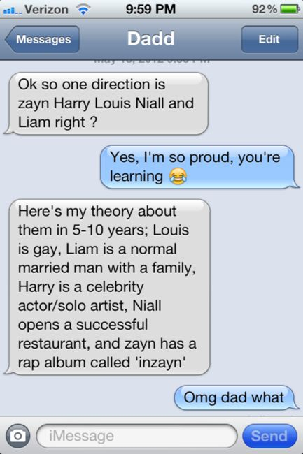 ahahahah coolest dad ever. Internet Site, Laugh,  Website, Web Site, One Direction, Dads, Funny Texts From Parents, Funny Texts Messages Dad, Onedirection