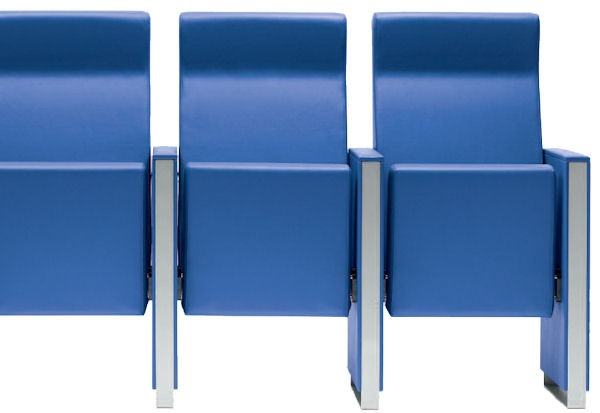 C100 armchair for conference halls, auditoriums, cinemas and theatres