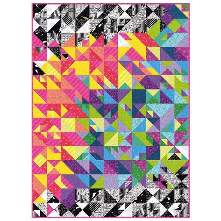 Andover Fabrics - Tattooed by Libs Elliott - Quilt Kit - 167cm x 228cm