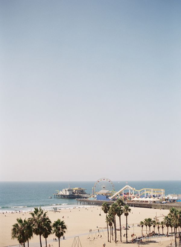 Southern California Beach Pier | photography by http://www.patmoyerweddings.com/ Always loved Southern Cali