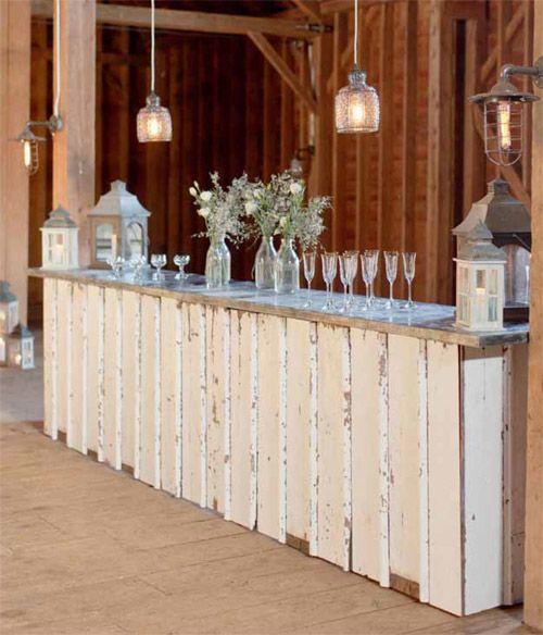 vintage and custom wedding furniture, decor and lighting rental from rEvolve | via junebugweddings.com