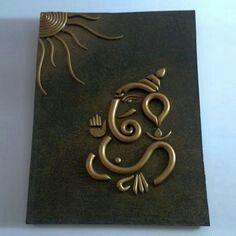 Ganesha clay art                                                       …
