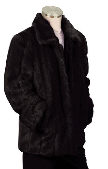 Check out Mens Faux Fur Coat Black just for US $190.Buy more save more. Buy 3 items get 5% off, Buy 8 items get 10% off.