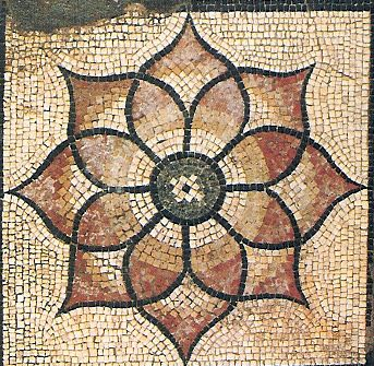 Ancient roman mosaics canterbury roman mosaic pattern for Roman mosaic templates for kids