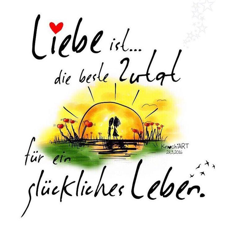 """❤️ #Liebe ist … die beste #Zutat  für ein #glückliches #Leben . ✨ #wahreliebe #sprüche #spruchdestages  #love #verliebt #herzgeflüster #spring """" #Frühling … am #Wochenende kommt er für ALLE ☀️ """" #Frühlingsgefühle  …älteres Bild überarbeitet✨..."""