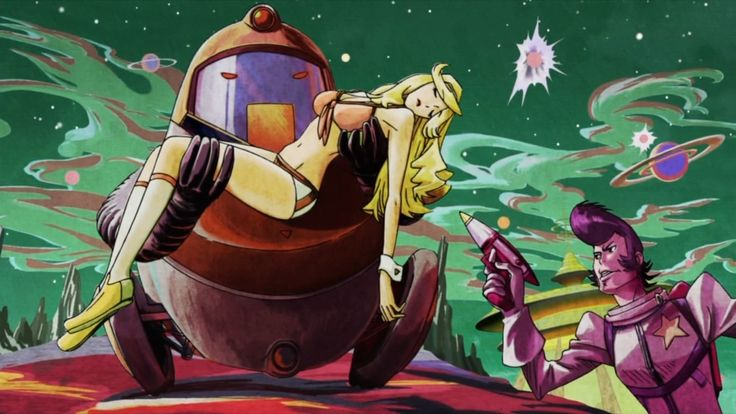 121 best images about space dandy on pinterest english