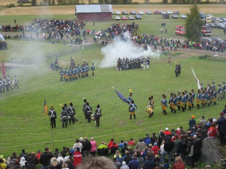 Battle Show, Historical Society of Oravais, Ostrobothnia province of Western Finland.- Pohjanmaa - Österbotten