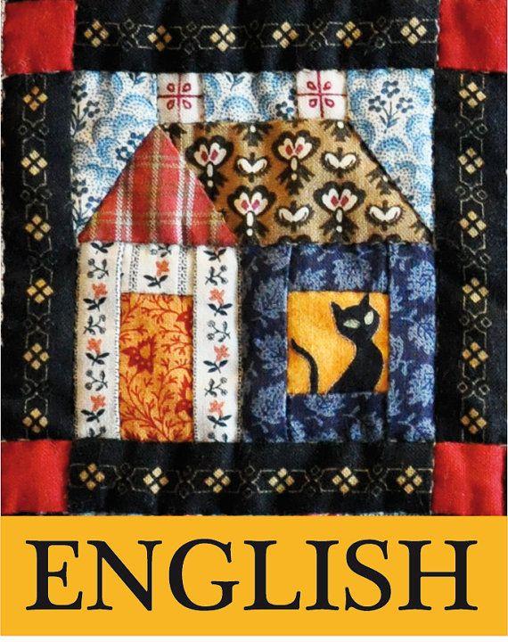 ENGLISH PDF Pattern Building Houses from por JeannekesEtsyShop, €7.95