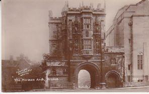 Burgess & Co Postcard - The Norman Arch, Bristol - 3016