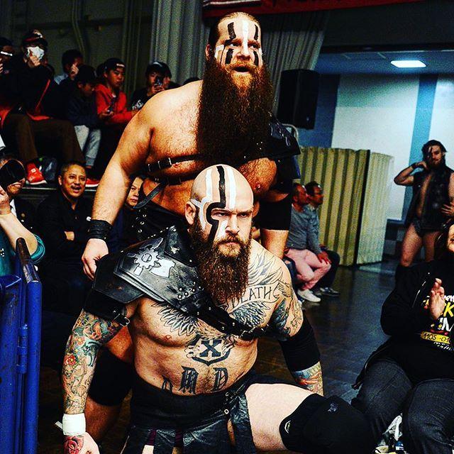njpw1972 Today's #WARMACHINE!! #Hanson and #Rowe  #NJSG #ROH 後楽園ホール 2017/04/04 23:48:15