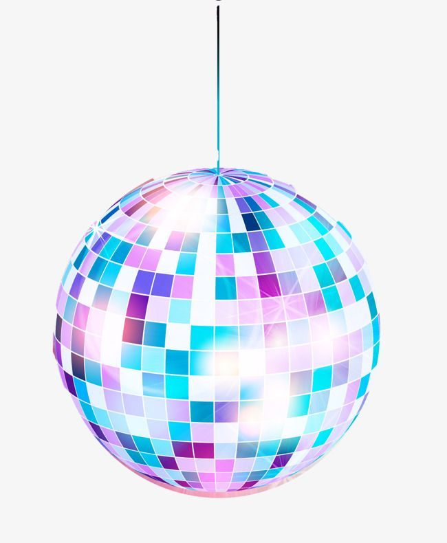 Christmas Disco Clipart.Fashion Disco Ball Posters Vector Material Nightclubs