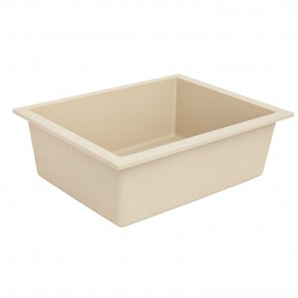 "24"" Holcomb Undermount Granite Composite Sink - Beige"