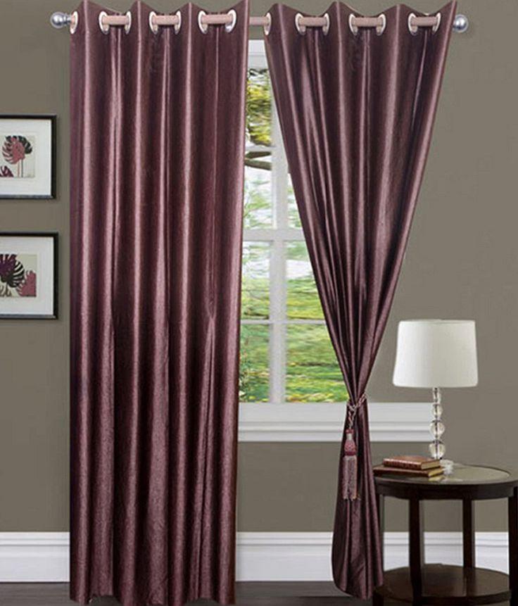 Sai Arpan Plain Polyster Door Curtain -Set of 2, http://www.snapdeal.com/product/sai-arpan-plain-polyster-door/1861589816