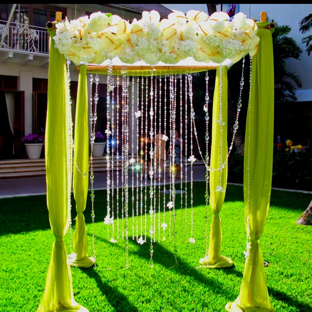 Bamboo Wedding Altar: 17 Best Images About Wedding Arches On Pinterest