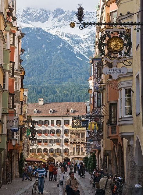 Herzog-Friedrich str.,Innsbruck,Austria