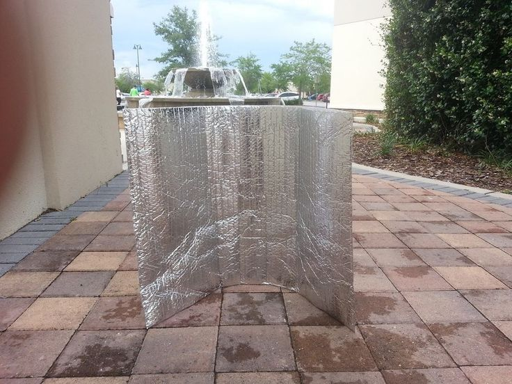 LARGE METALIZED INSULATED SILVER PLASTIC FOIL BUBBLE WRAP