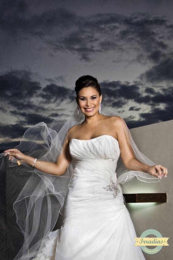 Sesión fotográfica de Mariana antes de la boda