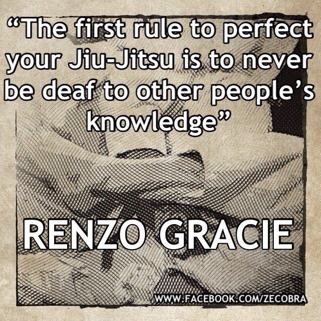 Jiu Jitsu Quotes: Great Quote By Renzo Gracie And A Great Lesson To Learn