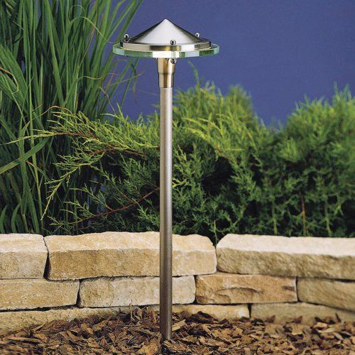 Kichler Lighting 15317BN Glass & Metal 1-Light 12-Volt Landscape Path & Spread Light, Brushed Nickel with Glass Diffuser by Kichler. $166.00. From the Manufacturer                The Kichler Lighting 15317BN Glass & Metal Low Voltage Landscape Path and Spread Light is designed to be noticed. This sleek, modern original combines contemporary style with smooth illumination perfect for accent lighting or as a path light. Made of high quality brass with glass diffuser, this ...