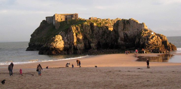 ~ St. Catherine's ~ glorious in winter ~ Tenby ~ Pembrokeshire ~ Wales ~ UK