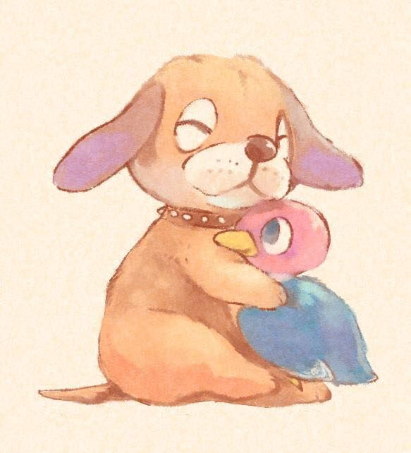 I love you, Duck Hunt dog and duck ⊟ While I'm not maining you in Smash Bros. (that honor belongs to Rosalina), I'm elated you're appearing in it at all even though your first and last game released THIRTY YEARS AGO. Credit to Manino for this cute AF tribute. Don't look at his portfolio. It's pretty gross. Look at this adorable Kirby and Duck Hunt image instead. BUY Super Smash Bros for Wii U/3DS, upcoming releases