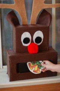 The Very Hungry Reindeer game! Totally fun Christmas activity for kids! This