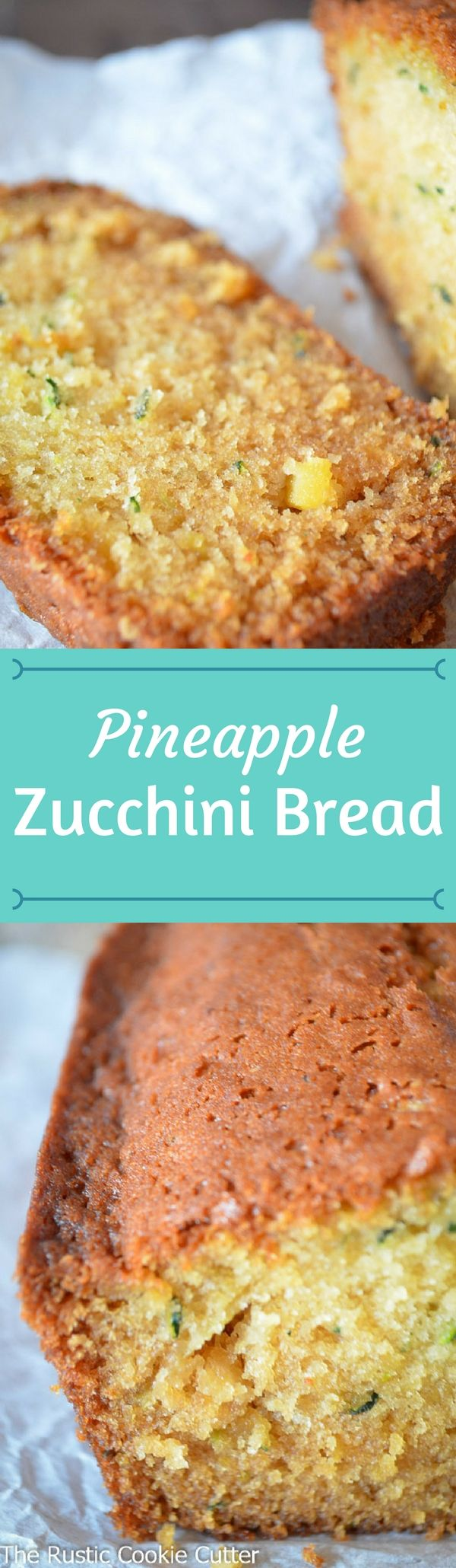 How to make Disappearing Pineapple Zucchini Quick Bread! - So good it disappears right off the cooling rack!