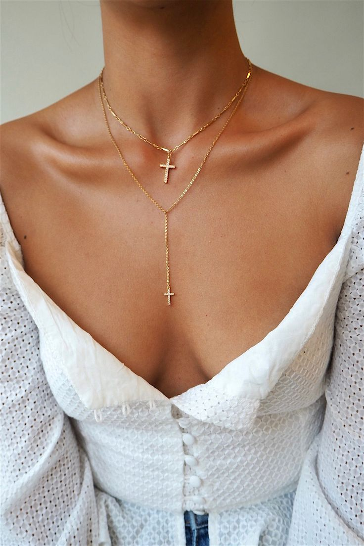 Double cross layers | gold